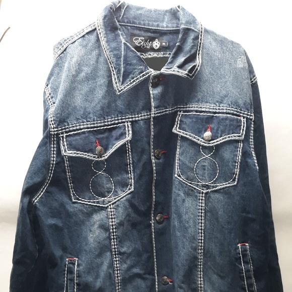 Eight Jackets & Blazers - Ei8ht 732 Denim Jacket Eight 2XL